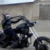 Тошкентда Бэтмен қиёфасидаги мотоциклчи пайдо бўлди