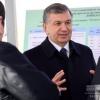 Shavkat Mirziyoyev Jizzax viloyatiga jo'nab ketdi