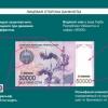 22 августдан қиймати 50 000 сўм бўлган янги пул банкноти муомалага чиқарилади
