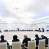 Shavkat Mirziyoyev videoselektor yig'ilishi o'tkazmoqda