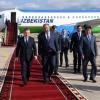 Шавкат Мирзиёев Қирғизистонга келди