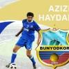 Rasman! Azizbek Haydarov «Bunyodkor» futbolchisiga aylandi