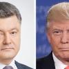 Трамп ва Порошенко ўртасида телефон орқали суҳбат бўлиб ўтди