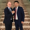 Умид Аҳмаджонов Доҳада ФИФА президенти Жанни Инфантино билан учрашди