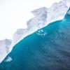 Uchuvchilar dunyodagi ulkan aysberg va uning shiddat bilan parchalanayotganini suratga oldi