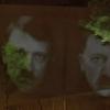 Туркиянинг Берлиндаги элчихонасида Эрдўғаннинг Гитлер образидаги сурати пайдо бўлди