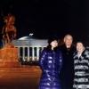 Набирасига кечки Тошкентни кўрсатаётган Ислом Каримов
