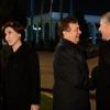 Ўзбекистоннинг биринчи хоними Алмазбек Атамбаевни кузатиш маросимида иштирок этди
