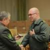 Нуриддинов, Дусанова ва Меньков энди лейтенант (фото)
