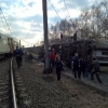 Бельгияда поезд рельсдан чиқиб кетди, жабрланганлар бор