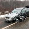 Молдова президенти кортежига автомобил урилди (видео)
