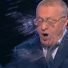 Собчак дебатлар вақтида Жириновскийга сув сепиб юборди (видео)