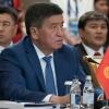 Jeenbekov Rossiya Qirg'izistonning yaqin ittifoqchisi va strategik hamkori ekanligini ta'kidladi