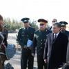 Шавкат Мирзиёев Чирчиқдаги ҳарбий қисмга борди
