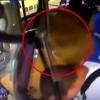 Катта тош автобус ҳайдовчисининг қовурғасини синдирди (Видео)