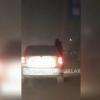 Шеригини ойнадан чиқариб сайр қилдирган ҳайдовчининг автомашинаси олиб кўйилди(видео)