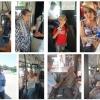 Тошкент шаҳри автобусларида йўловчиларга сув таклиф қилинмоқда