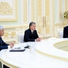 Президент МДҲ давлатлари ҳуқуқни муҳофаза қилиш органлари раҳбарларини қабул қилди