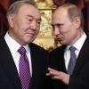Назарбоев ва Путин янги шартномалар имзолаш арафасида