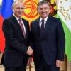 Шавкат Мирзиёев Владимир Путин билан учрашди