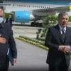 Prezident Olot va Qorako'lda tabiiy ofat oqibatlarini ko'zdan kechirdi (video)