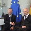 Shavkat Mirziyoyev Germaniya Bundestagi Raisi Volfgang Shoyble bilan uchrashdi