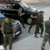 «Донецк халқ республикаси» раҳбари Захарченкога уюштирилган суиқасд видеоси