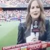 Испаниялик журналист аёлни тўғридан-тўғри эфир пайтида нокаутга учратишди (видео)