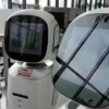 Хитойда иккита кутубхоначи-робот бир-бири билан «уришиб» қолди (видео)