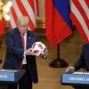 «Тўп энди АҚШ томонда». Путин Трампга копток совға қилди