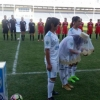 Ўзбек футболида илк маротаба стадионда келин саломи берилди (фото)