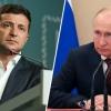 Путин ва Зеленский Парижда илк бор юзма-юз учрашади