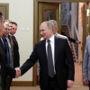 Путин Ўзбекистон ва яна 9 мамлакат мудофаа вазирлари билан учрашди
