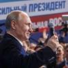 Путин тўртинчи бор Россия президенти этиб сайланди