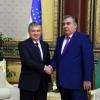 Shavkat Mirziyoyev va Imomali Rahmon oʻzaro muloqot qildi