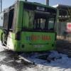 ИИББ 45-автобуснинг ёниб кетгани тўғрисида хабар қилди
