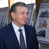 Шавкат Мирзиёев Жиззах шаҳрига ташриф буюрди