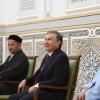 Shavkat Mirziyoyev Termizdagi Sulton Saodat maqbarasini ziyorat qildi (foto)