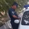 Qashqadaryoda YPX xodimi haqoratlandi: «Formani yechib, ayollar kiyimini kiyib oling» (video)