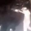 Олма-Отада машина ёқиб юборувчи жиноятчи видеога олинди