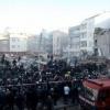 Istanbuldagi 6 qavatli bino qulab tushdi (Video)