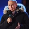 Путин митингда ўз тарафдорларига миннадорчилик билдирди