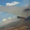 Йўловчи ҳалокатга учраган самолётнинг қулашини тасвирга олди (видео)