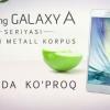 Samsung Galaxy A смартфонлари реклама ролигида Apple устидан кулди (видео)