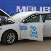 Пискентдаги автополигонда турбодвигателли Malibu тест-драйвдан ўтказилди (фото)