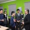 Shavkat Mirziyoyev Al-Xorazmiy maktabida bo'ldi (foto)