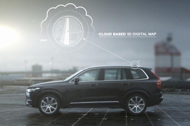 Volvo компанияси автопилотли автомобиль яратди