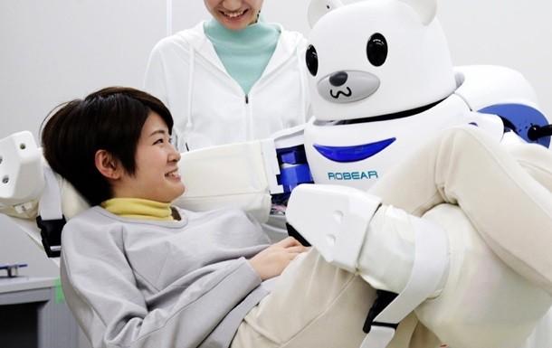 Японияда айиқ кўринишидаги робот-ҳамшира ишлаб чиқилди