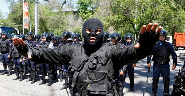 Олмаотада террористик хавфнинг «қизил даража»си эълон қилинди