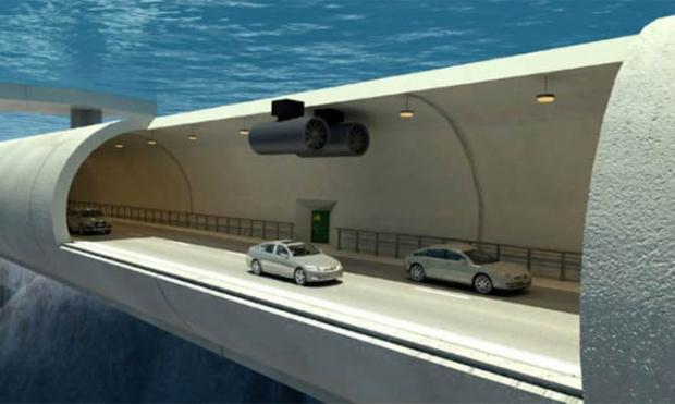 Норвегияда дунёдаги илк сузувчи сув ости туннеллари барпо этилади